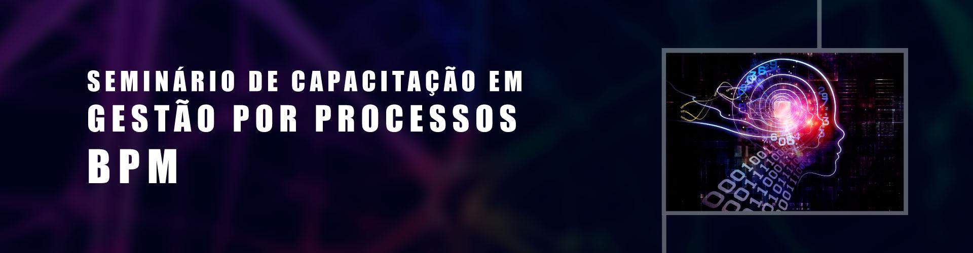 SEMINÁRIO DE CAPACITAÇÃO EM GESTÃO POR PROCESSOS (BPM)